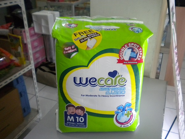 we care pampers M free