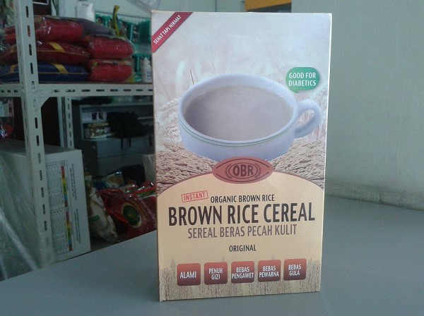 brown rice cereal original