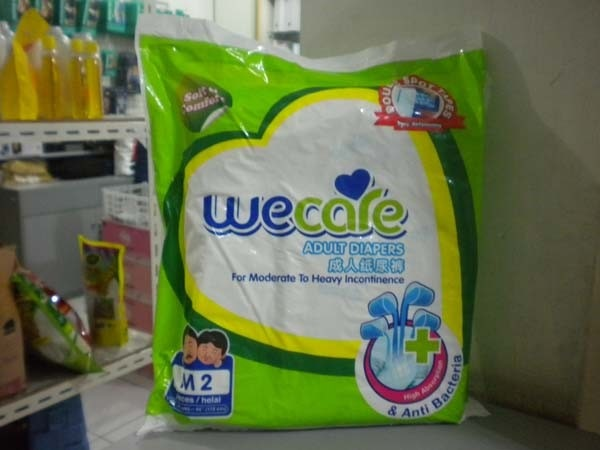 we care pampers M2
