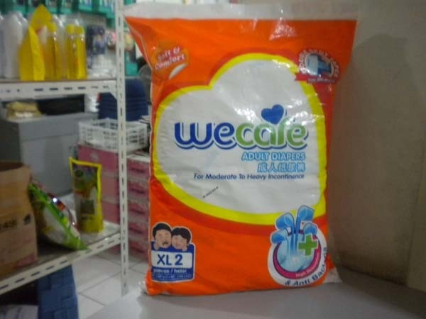 we care pampers XL2