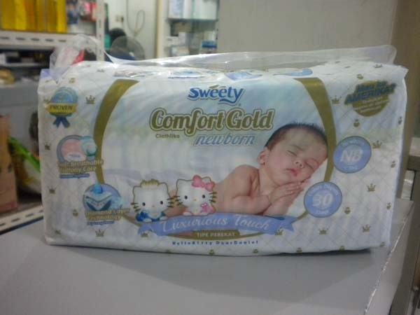 sweety comfort gold isi 30