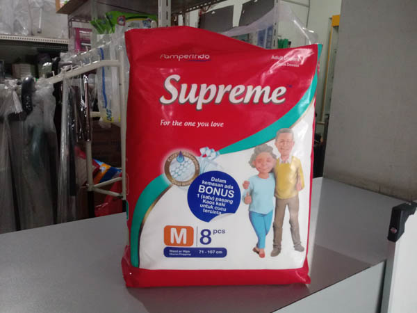 pampers supreme m8
