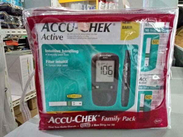 accuchek active family pack