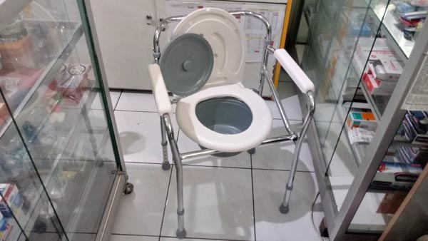 commode chair deluxe