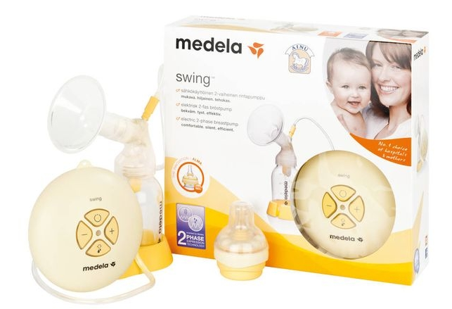 medela breast pump swing