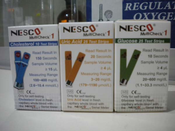test strip nesco type 1