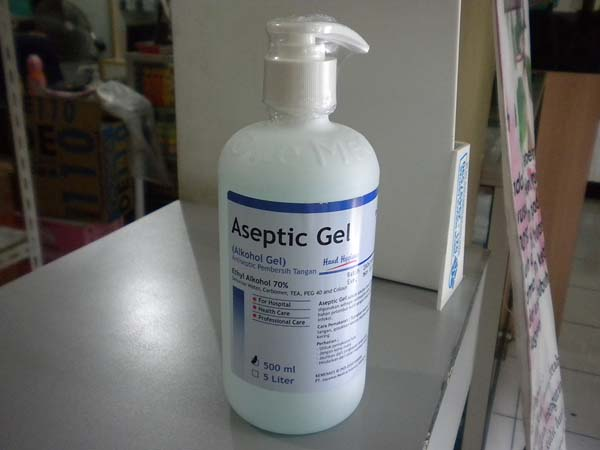 aseptic gel dispenser 500ml