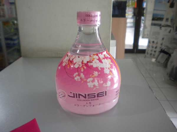 jinsei collagen water