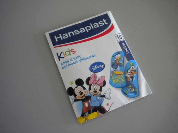 hansaplast kids donald