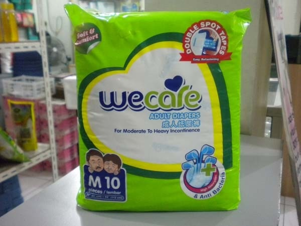 we care pampers M10