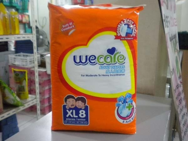 we care pampers XL8