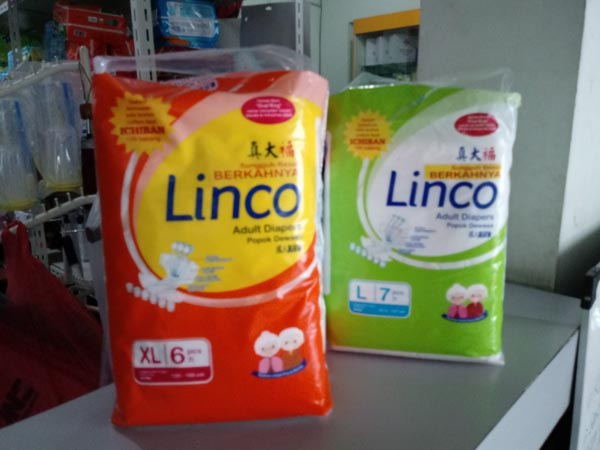 pampers linco L10 XL10