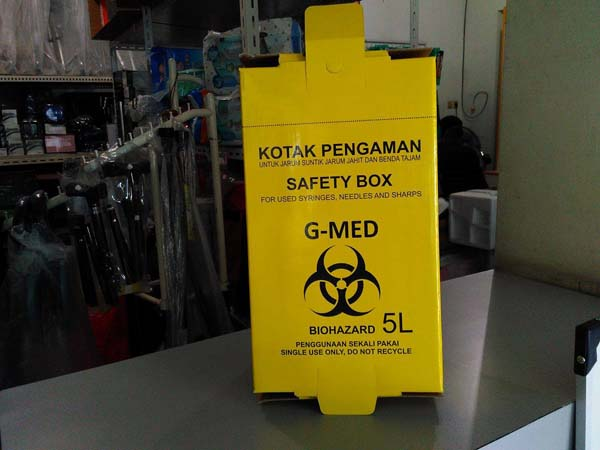 safety box kuning