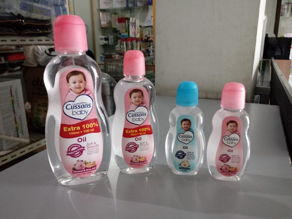 cussons baby oil 100-50