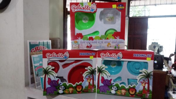 feeding set reliable kecil