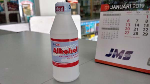 alkohol 95% 100ml onemed