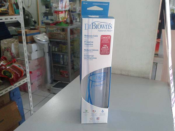 botol dr brown natural 250ml isi 1