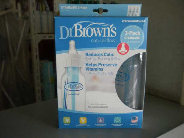botol dr brown standard 250ml isi 3