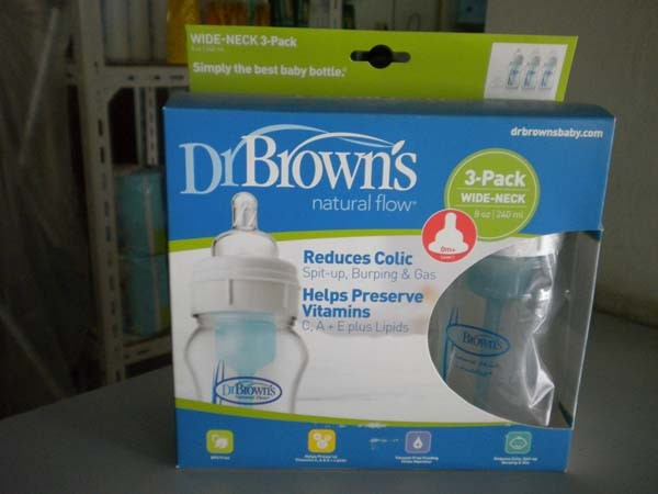 botol dr brown wide neck 3pack 240ml